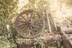 Old cart wheel Stock Photos
