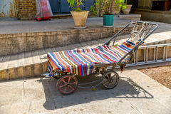 Old Carts in Shiraz Stock Photography