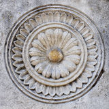 Old carved stone pattern Royalty Free Stock Photos