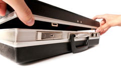 Old case for business meetings 2 Royalty Free Stock Photography