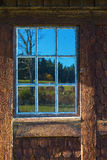 Old casement windows Stock Image