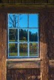 Old casement windows Stock Image
