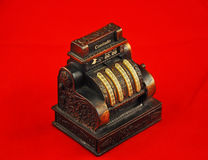 Old cash register Stock Image