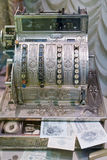 Old cash register Stock Images