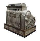 Old cash register. An old-fashioned cash register Stock Image