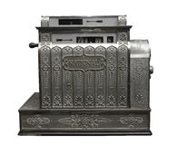Old cash register. An old-fashioned cash register stock photography