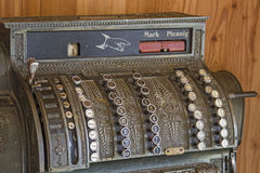 Old cash register. As which were used decades ago Royalty Free Stock Photos