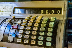 Old cash register  Curacao Views. Old cash register  Views around Curacao a small Caribbean Island Royalty Free Stock Photos