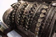 Old cash register Stock Images