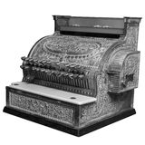 Old Cash Register Isolated Royalty Free Stock Photography
