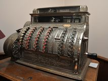 An old cash register in Potosi Royalty Free Stock Photography