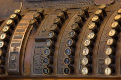 Old Cash Register Royalty Free Stock Photos