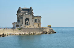 The Old casino in Constanta, Romania Stock Image