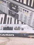 Old Casio keyboard Profi music Royalty Free Stock Photos