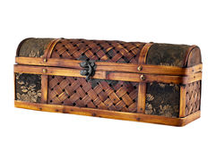 Old casket. Royalty Free Stock Images