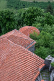 Old Casle roof Stock Photography