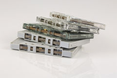 Old Cassete Tape Stock Image