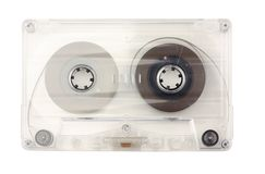 Old cassette stock photo