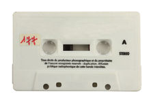 Old cassette Stock Photos