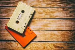 Old cassette Royalty Free Stock Images