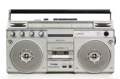 Old cassette player Stock Photo