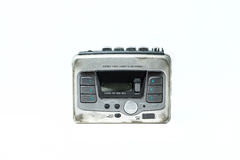 Old cassette player Royalty Free Stock Photography