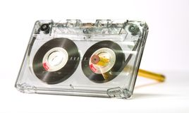Old cassette tape Royalty Free Stock Photo