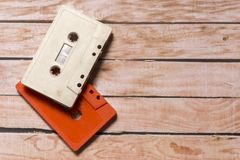 Old cassette Stock Image