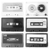 Old cassettes Royalty Free Stock Photos