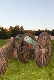 Old cast-iron cannon Stock Photography