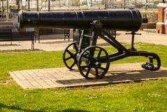 Old cast-iron cannon,Irland.europa, Stock Photos