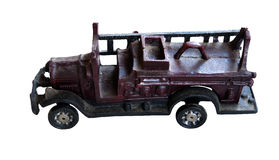 Old cast iron Toy Fire truck Royalty Free Stock Photography