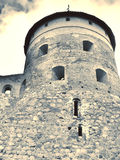 Old castle. Old Trakai castle in Lithuania stock photography