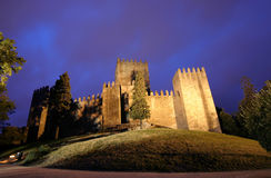 Old Castle. The old castle of Guimarães - Portugal Royalty Free Stock Images