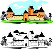 The old castle Royalty Free Stock Photo