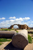 Old castle. In Paphos area - Cyprus, 7th century bc Royalty Free Stock Image