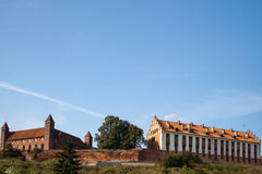 Old Castle. Old Teutonic castle in Gniew, Poland Stock Photo