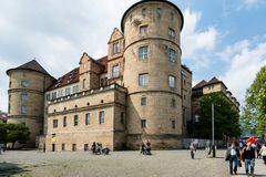 The old castle (Altes Schloss) of Stuttgart, Germany Royalty Free Stock Images