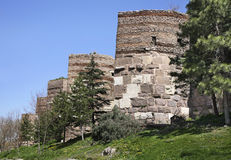 Old castle in Ankara. Turkey Stock Photo