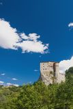 Old castle on the background Royalty Free Stock Images