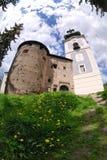Old castle in Banska Stiavnica Stock Photos