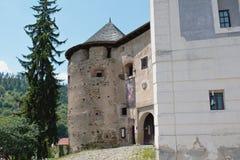 Old Castle Banska Stiavnica Stock Photo