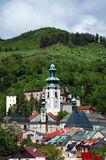 Old castle in Banska Stiavnica, Slovakia Stock Photography