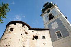 Old Castle - Banska Stiavnica - Slovakia Stock Photography