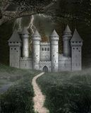 Old castle in the black forest royalty free stock photo