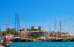 Old Castle In Bodrum Royalty Free Stock Photography