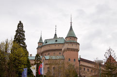 Old castle in Bojnice Stock Photography
