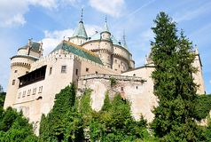 Old castle Bojnice, Slovakia, Europe Stock Images