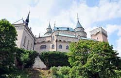 Old castle Bojnice, Slovakia, Europe Royalty Free Stock Image