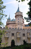 Old castle Bojnice, Slovakia, Europe Royalty Free Stock Images